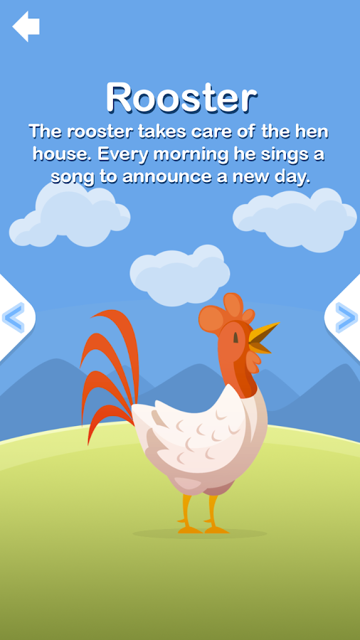 The Yellow Chick Farm - Animals Sounds and Games- screenshot