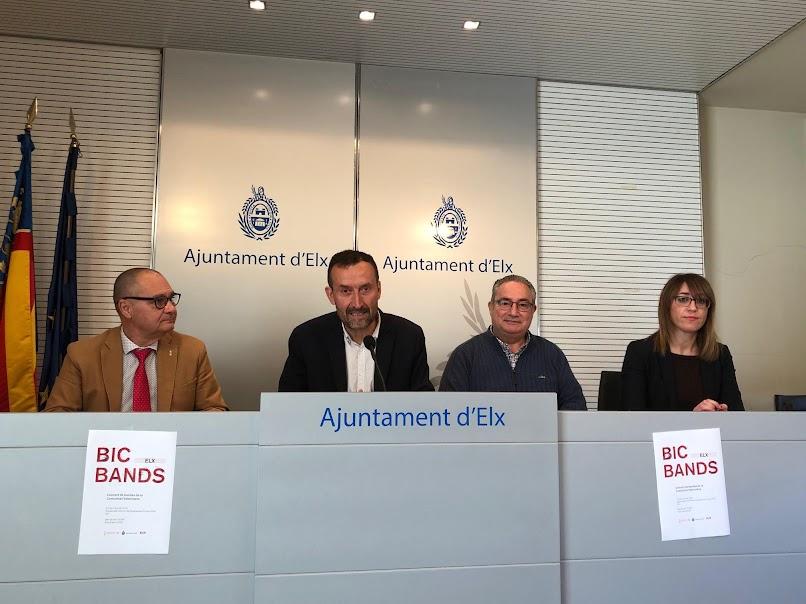 """Elche acogerá el sábado el concierto gratuito """"BIC Bands"""