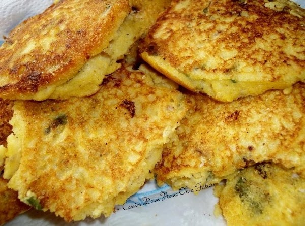 Down Home Okra Fritters Recipe
