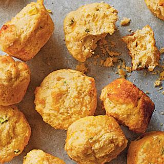 Jalapeño-Cheddar Corn Muffins.