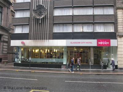 Mercure Glasgow City Hotel Hotels 4 Stars