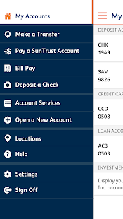 SunTrust Mobile App- screenshot thumbnail