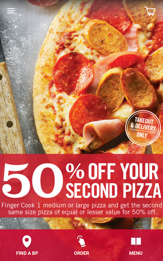 Boston Pizza- screenshot