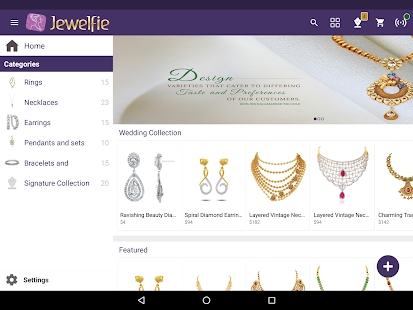 Jewelfie Sales Assist - náhled