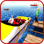 Water Boat Taxi Simulation – Crazy Transport Game