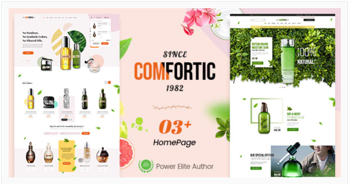 Comfortic - Perfume Shopify theme