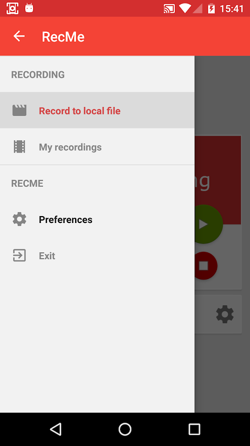 Recme Free Screen Recorder Android Apps On Google Play