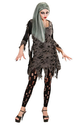 Zombieklänning S