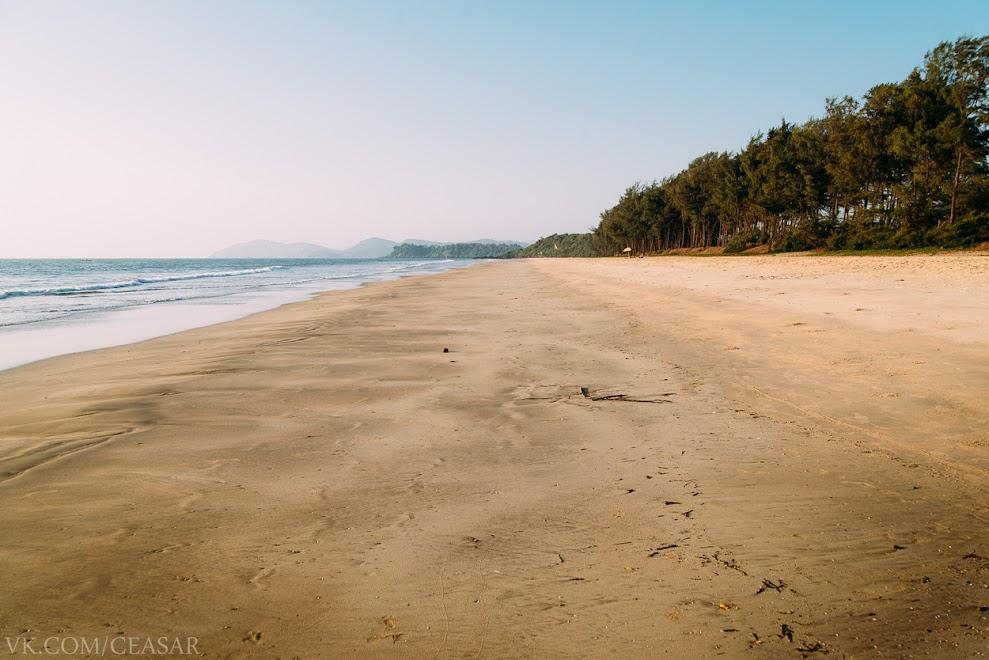 Черепаший пляж, южный Гоа