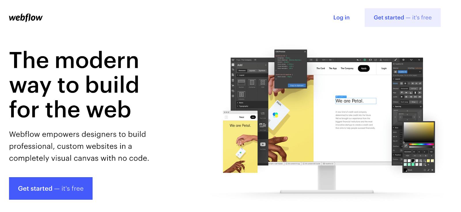 webflow: a squarespace alternative