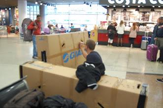 Photo: Etwa zeitgleich in Prag: Aufgeregte und daher verwackelte letzte Vorbereitungen