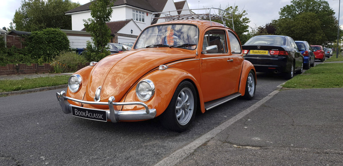 Volkswagen Beetle Hire Hatch End