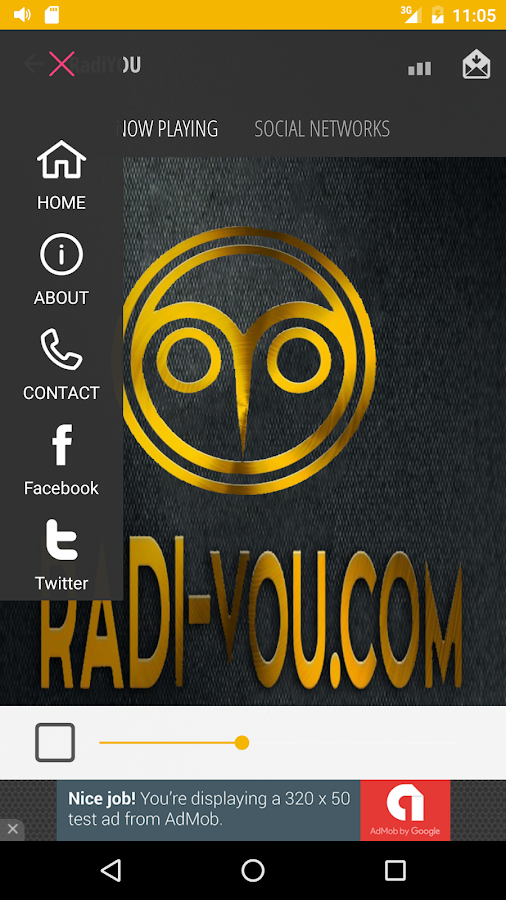 RadiYOU- screenshot