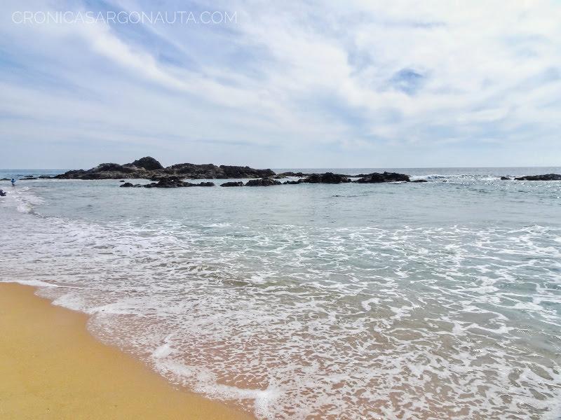 playa de Zipolite en la costa de Oaxaca