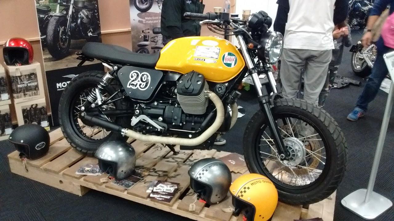 Kickback Olympia 2016               Moto Guzzi