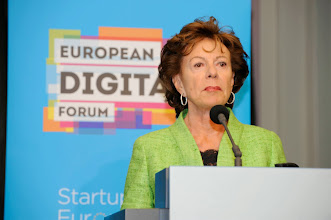 Photo: Neelie Kroes, vice-president of the European Commission responsible for the digital agenda