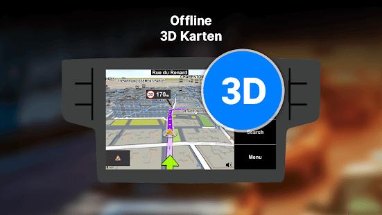 Sygic Car Navigation - Offline-Karten Screenshot