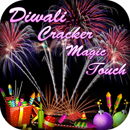 Happy Diwali Crackers Magic Touch 2017 - Fireworks