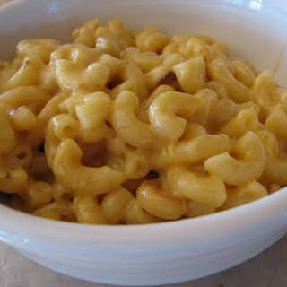 Rice Cooker Macaroni and Cheese.