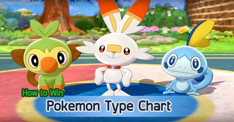 [How to Win] Pokemon Type Chart