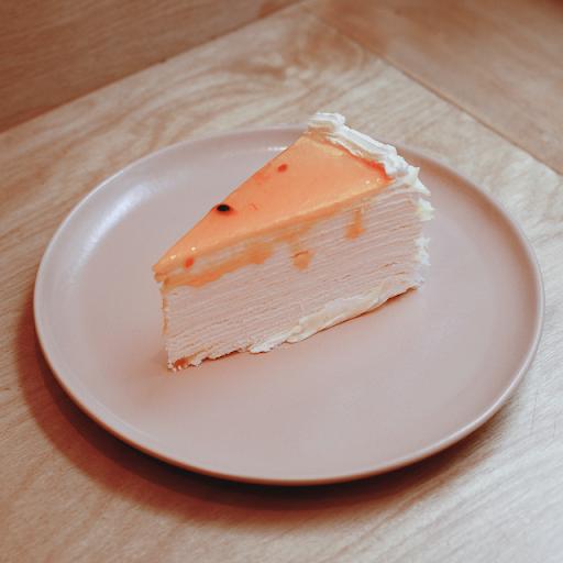 Passion Fruit Crepe Cake