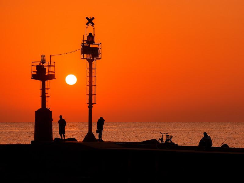 Orange sunrise di LorenzoVitali