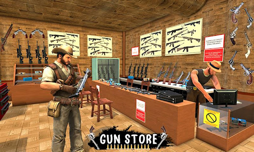 Western Cowboy Gun Shooting Fighter Open World Mod