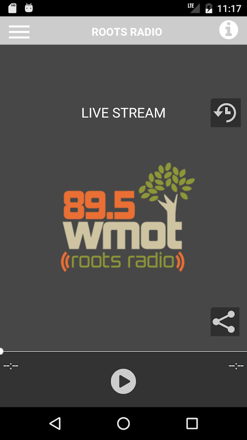 Roots Radio- screenshot