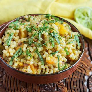 Couscous with Pistachio and Apricot.