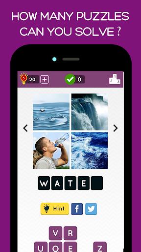 4 Pics Quiz: Guess the Word Screenshot
