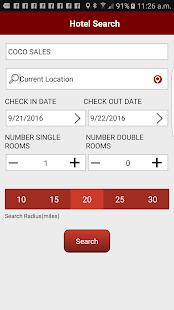 Clc Lodging Hotel Locator Screenshot Thumbnail