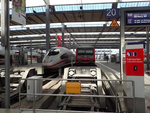 ミュンヘンセントラル駅