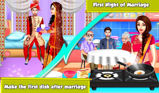Indian Wedding Honeymoon Marriage Part3 Love Game apkdomains screenshots 1