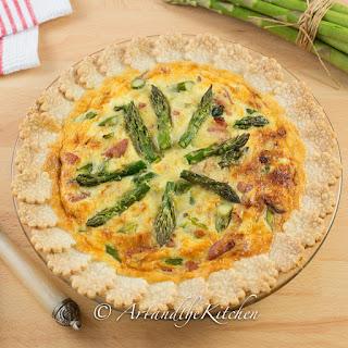 Fresh Asparagus Quiche Recipes.