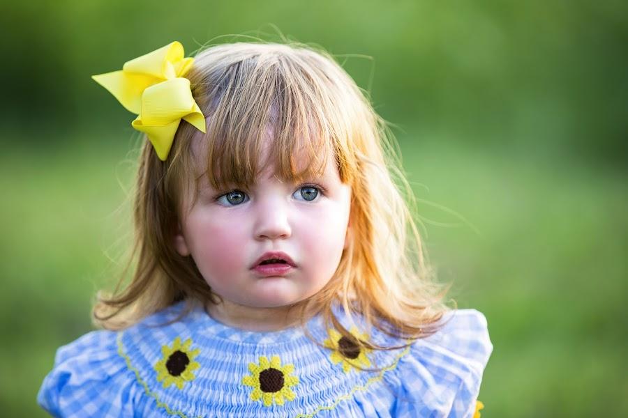 by Sabrina Causey - Babies & Children Child Portraits ( toddler, girl, portrait, blue eyes, child,  )