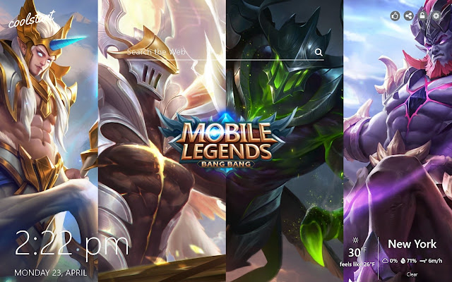 Mobile Legends Hd Wallpapers Games Theme
