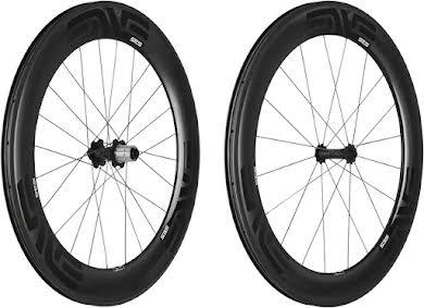 ENVE Composites SES 7.8 Wheelset - 700c, QR x 100/130mm, HG 11, Black, Carbon Hub alternate image 2