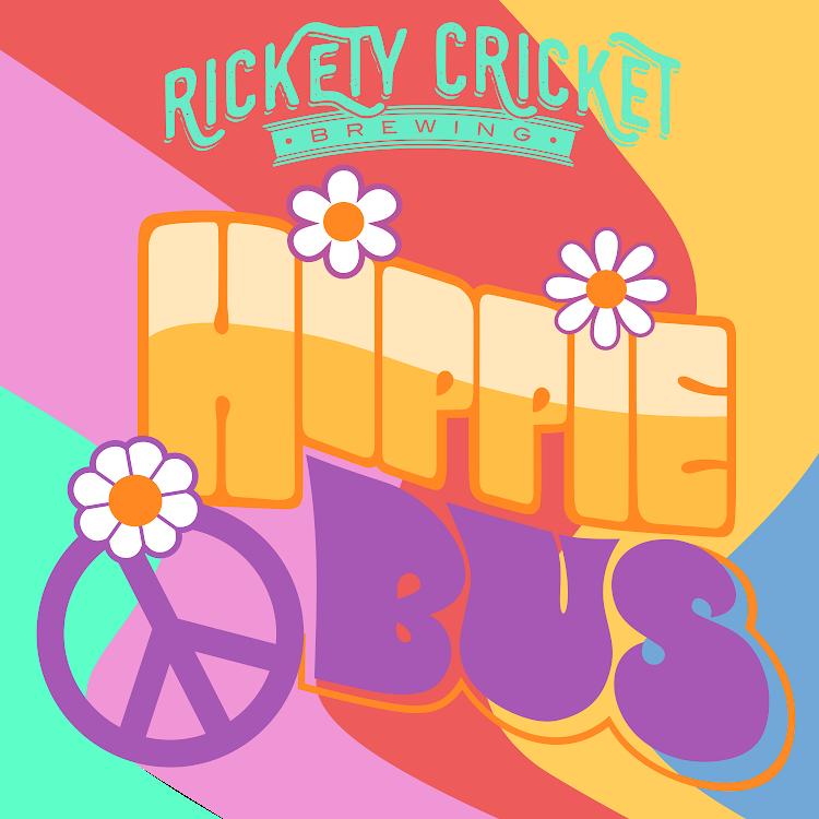 Logo of Rickety Cricket Brewing Hippie Bus