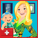 Pregnancy Doctor office icon