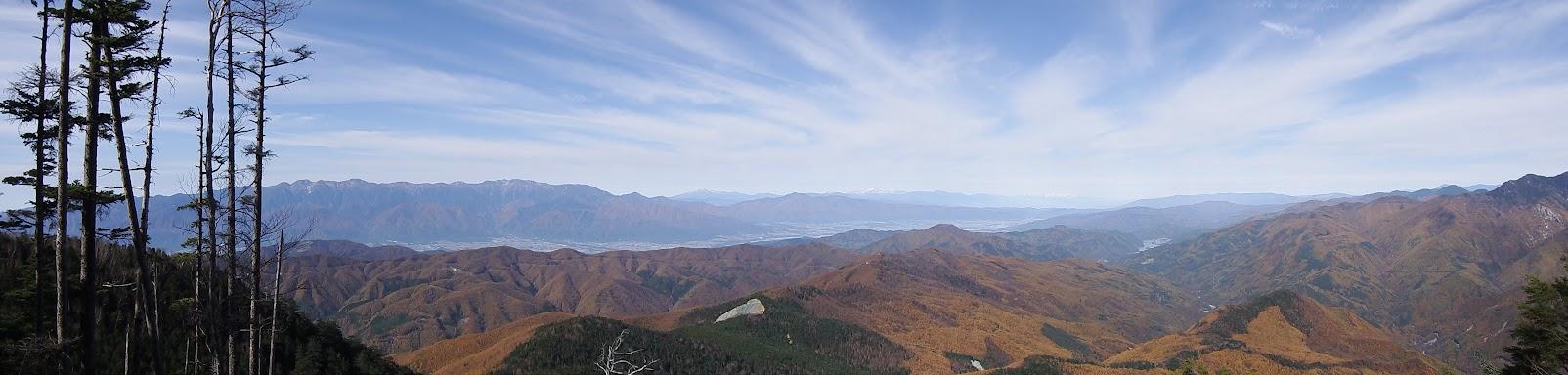 二児山からパノラマ