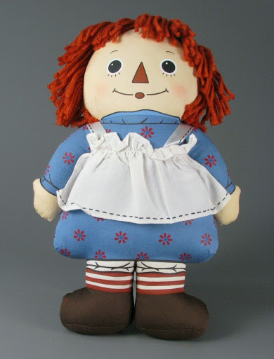 Doll:Raggedy Ann Pillow Pal