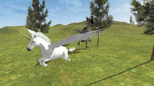 Flying Unicorn Simulator Free screenshot 10