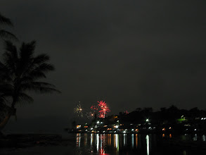 Photo: New year on Lake Toba
