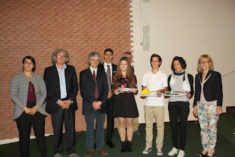 """Photo: Piccolo Agone Placidiano 2015: Vincitori per l'I.S.I.S. """"Niccolini - Palli"""" di Livorno: Tommaso Domenichini (1°anno), Emma Guarguaglini (3° anno), Chiara De Mizio (4° anno)"""