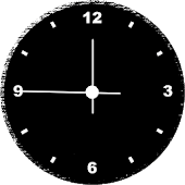 Custom Analog Clock (Widget)