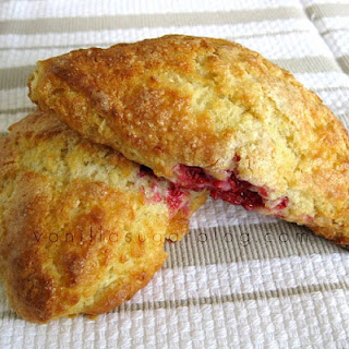 Raspberry & Lemon Buttermilk Scones