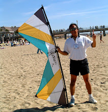 Photo: I believe Ron attended all 13 Kite Party events at Huntington Beach, CA.