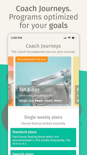 BodyFast Intermittent Fasting: Coach, Diet Tracker screenshot 2
