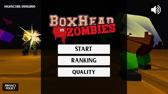 BoxHead vs Zombies 1.2 Mod APK Latest Version 1