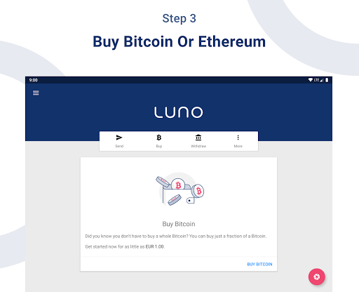 Luno: Buy Bitcoin, Ethereum & Cryptocurrency Now 5.3.0 screenshots 11